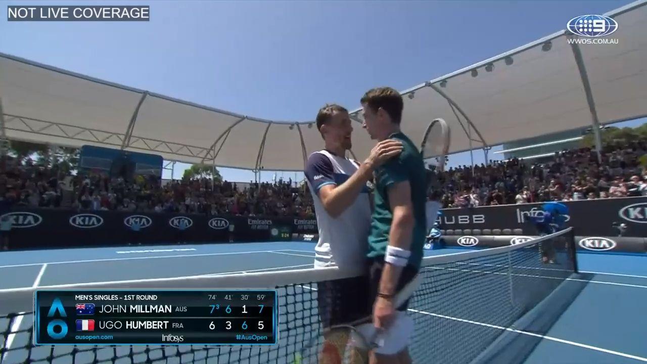 Roger Federer vs John Millman, Australian Open 2020, third round