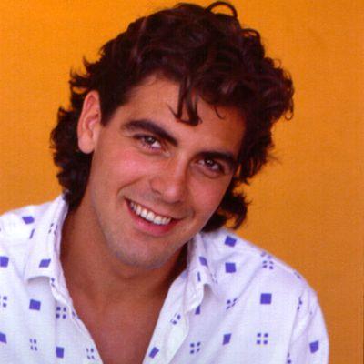<p>George Clooney, 1985</p>