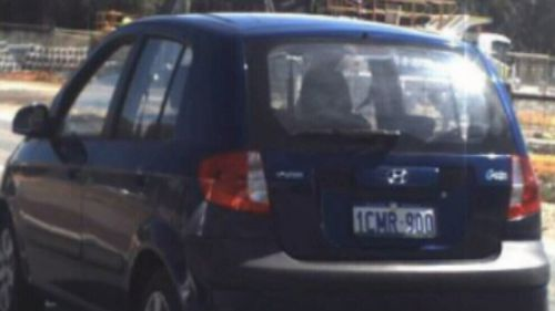 The cars are a Hyundai hatchback with the registration number 1CMR900, and a Mitsubishi coupe with the registration number 1BJP872.