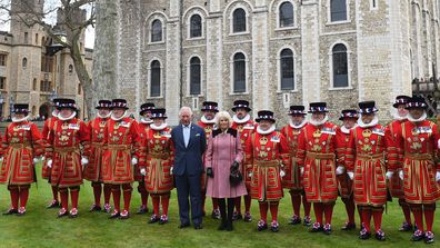 Prince Charles inspects Investiture coronet and rod at Tower of London
