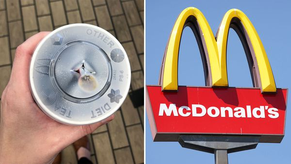 McDonald's reveals why the drink lids buttons come pushed down