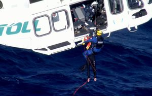 Three men rescued from life raft off the NSW south coast