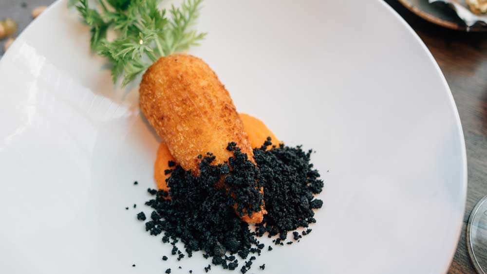 Tutto Bene's carrot arancini recipe