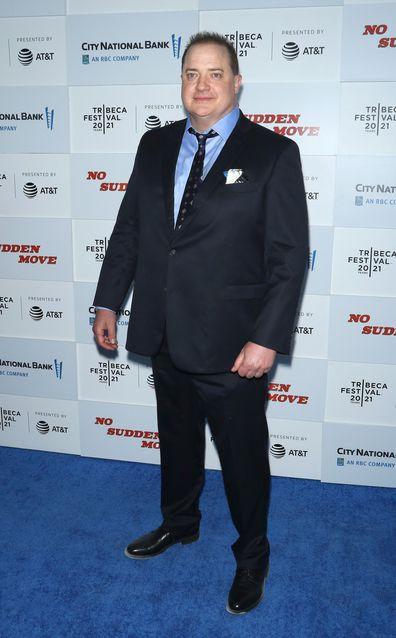 Brendan Fraser in 2021