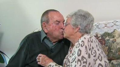Anzac lovebirds 70 years strong