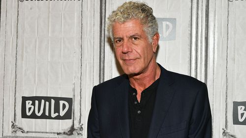 Bourdain was a renowned writer and travel television host. (Getty)