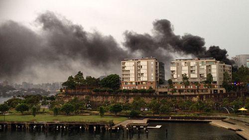 UPDATE: Sydney sub-station fire under control after lightning strike