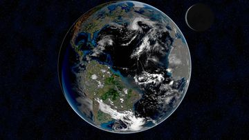 Earth is dimming due to a lack of clouds