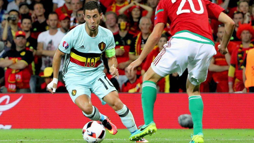 Belgium's Eden hazard (AAP)