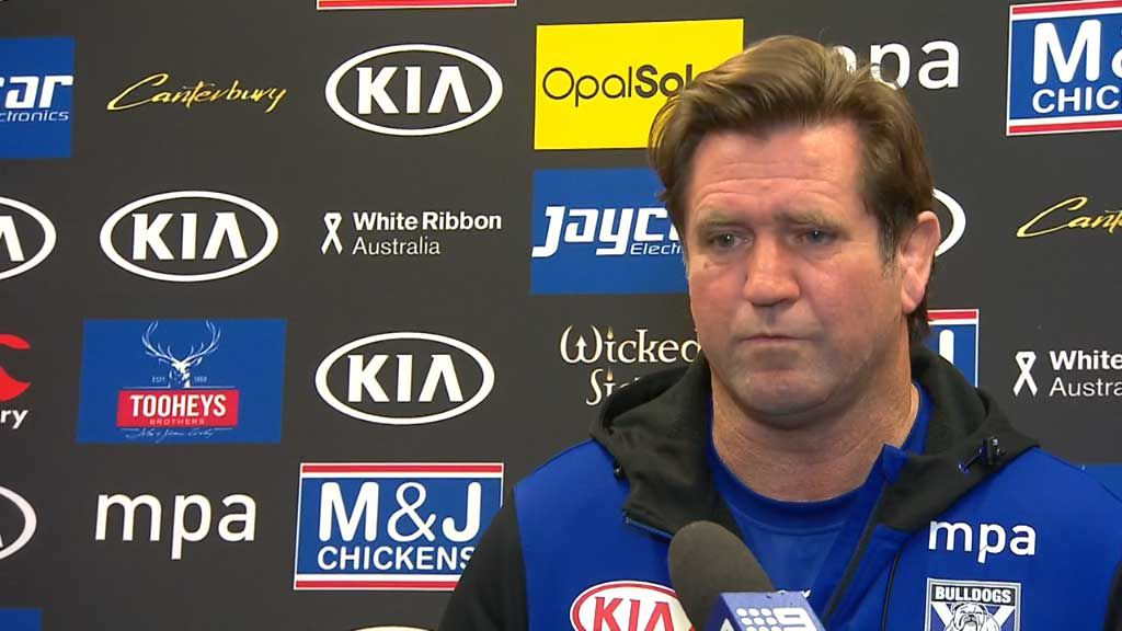 Hasler 'super pleased' with Bulldogs