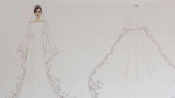 Wedding dress designer's huge secret
