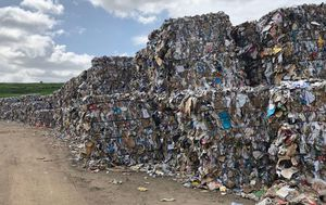 SUEZ Recycling fined $15,000 for keeping 'unsafe' material outdoors at Sydney site