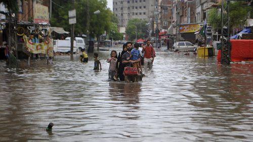 At least 90 dead after heavy monsoon rains in Pakistan