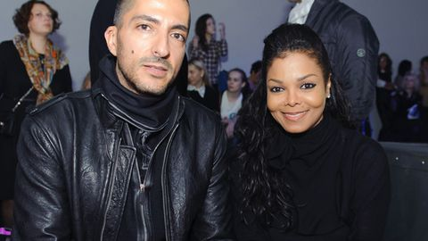 Janet and Wissam Al Mana at a fashion show in Moscow, Russia in October 2012.