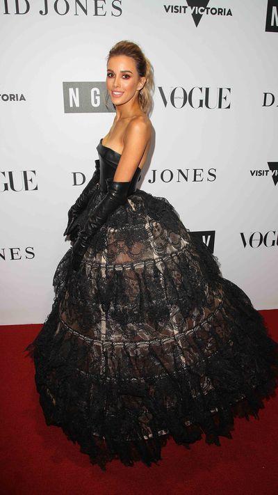 Rebecca Judd in J'Aton Couture
