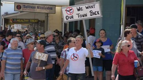 Residents have planned another rally this week.