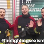 Female firefighters' video proves to little girl she can be one too