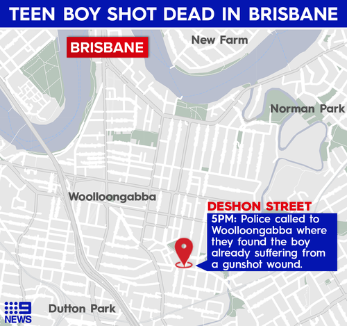 Teen boy dies in Woolloongabba, Queensland