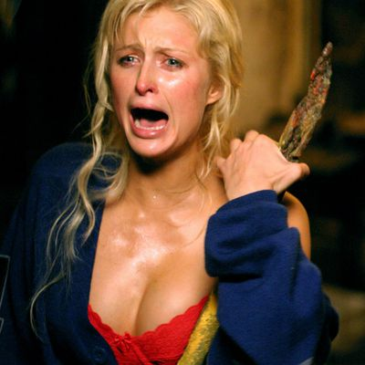 Paris Hilton in <em>House of Wax</em> (2005)