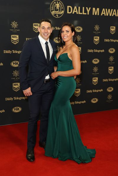 Billy Slater and Nicole Slater