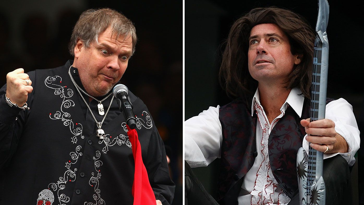 'It brought great shame': AFL boss Gillon McLachlan unleashes on Meat Loaf for infamous GF performance