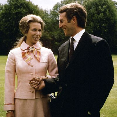 Princess Anne and Captain Mark Philips, 1973
