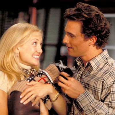 Kate Hudson and Matthew McConaughey: Then…
