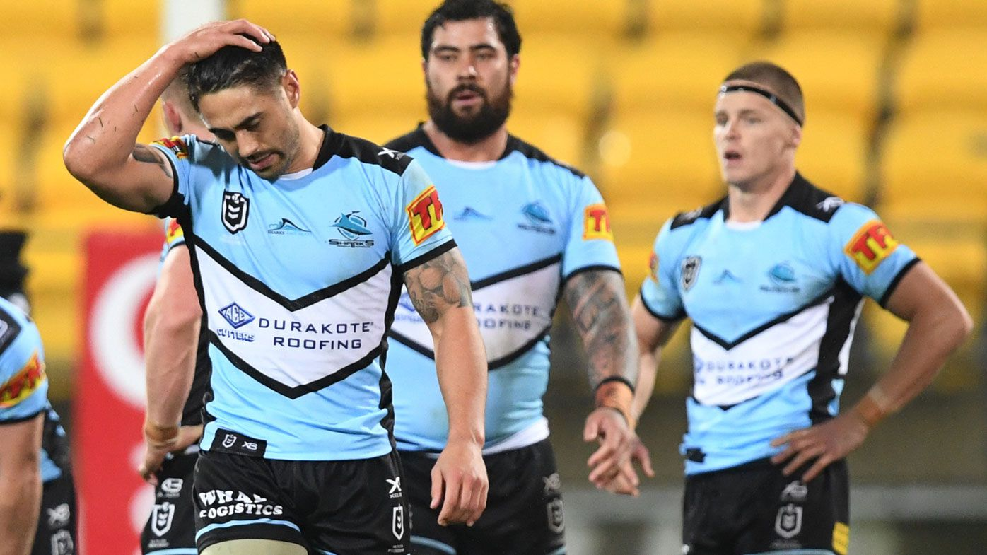 Cronulla Sharks' season hangs in the balance