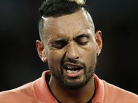 Kyrgios' wild night