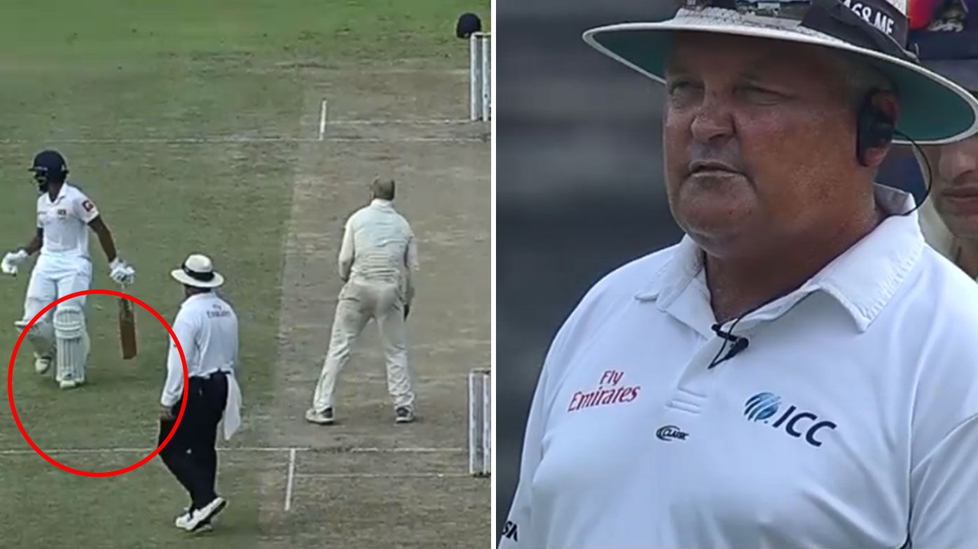 Sri Lankan batsman Roshen Silva stunned after being slapped with five-run penalty for simple mishap