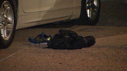 Crime scene investigators have analysed the scene (9News).
