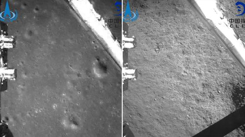 "China's burgeoning space program achieved a lunar milestone today: landing a probe on the mysterious and misnamed ""dark"" side of the moon."