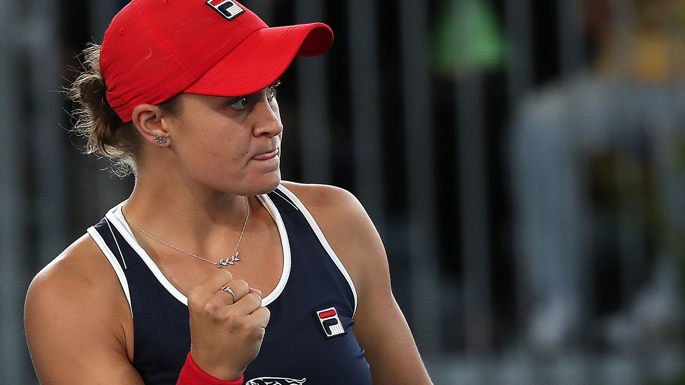 Australian Ash Barty defeats Danielle Collins at Adelaide International to make final