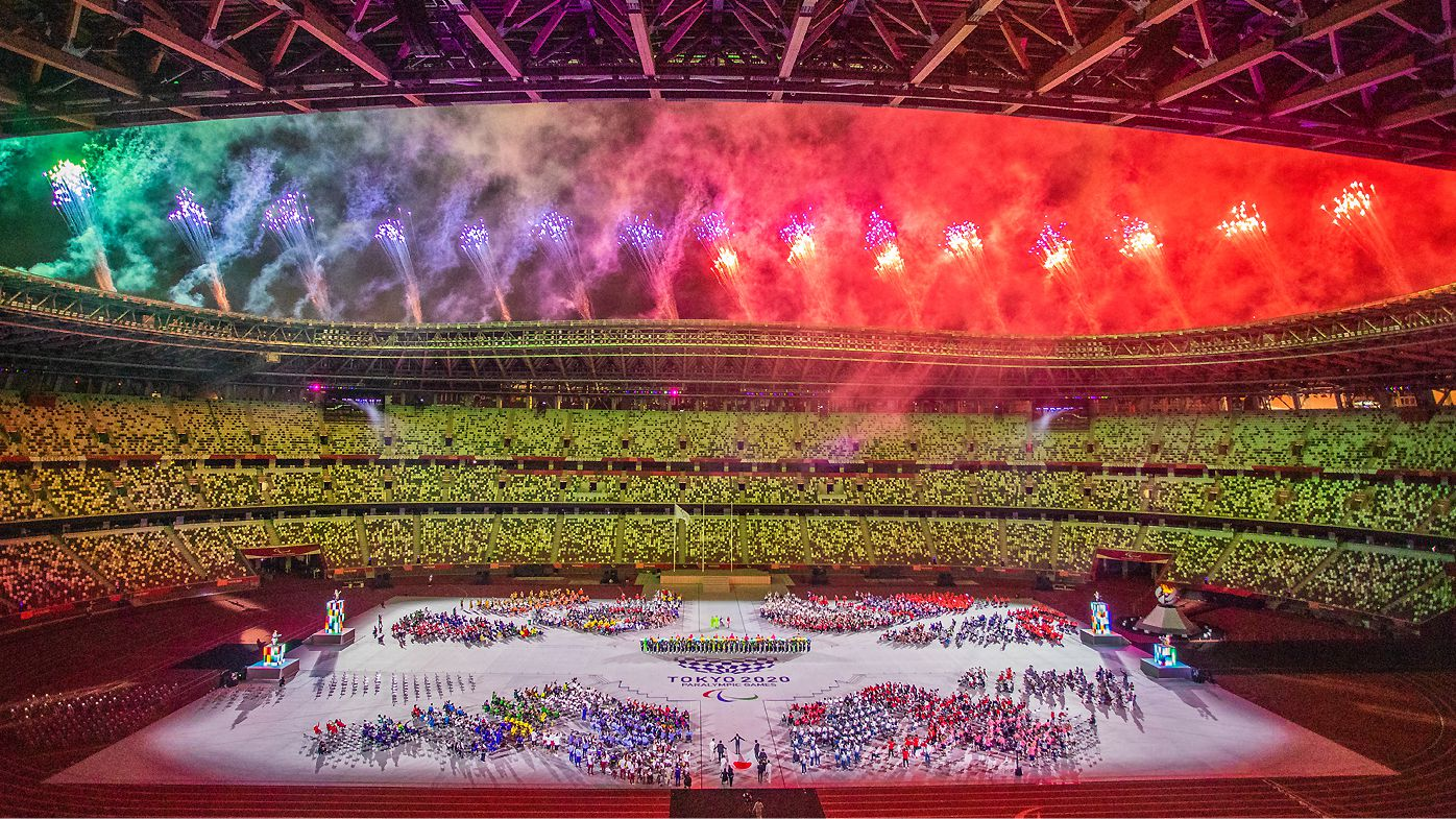 The Closing Ceremony of the Tokyo 2020 Paralympics Games