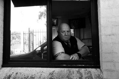 David McMaster, Security Guard