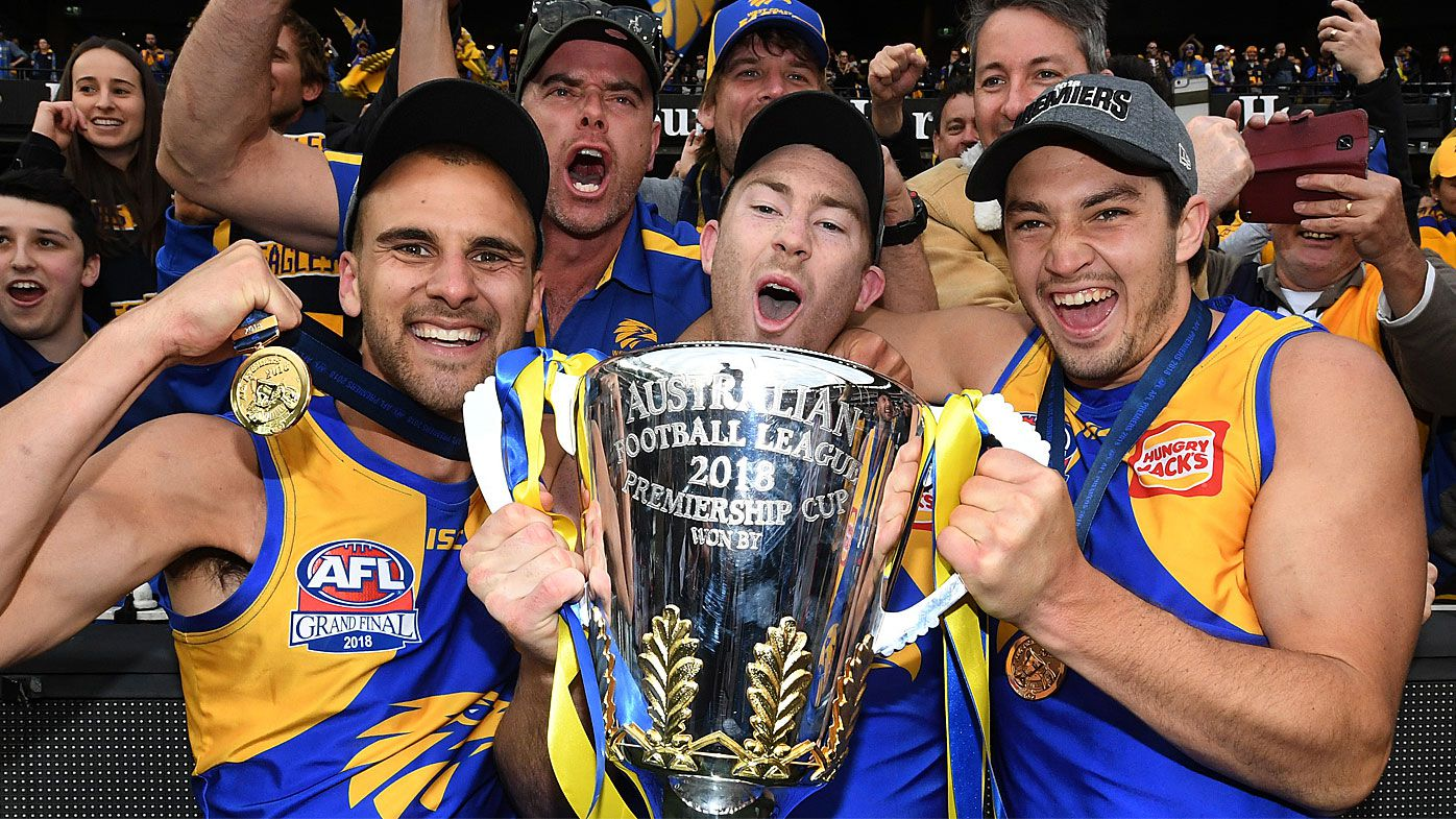 West Coast win the 2018 AFL grand final