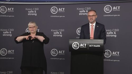 ACT Chief Minister Andrew Barr announced this morning people aged 16-29 who have not yet been vaccinated can register for the Pfizer jab at government clinics on the My Digital Health website.