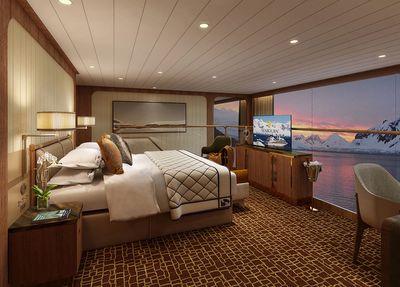 Seabourn Venture: Wintergarden Suite (Bedroom)