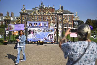 Golden Gates of Kensington Palace