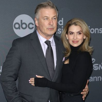 Actor Alec Baldwin and Hilaria Baldwin attend the 2019 Walt Disney Television Upfront at Tavern On The Green on May 14, 2019 in New York City.