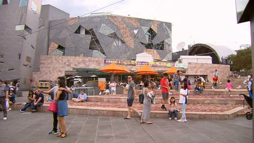 There are concerns the heritage listing could inhibit Apple's plans to launch its flagship store. Picture: 9NEWS