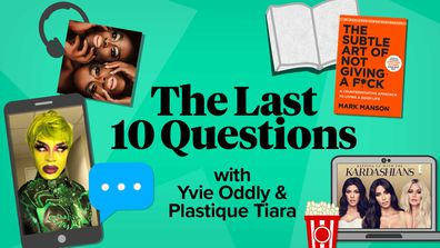 The Last 10 Questions with Yvie Oddly and Plastique Tiara.