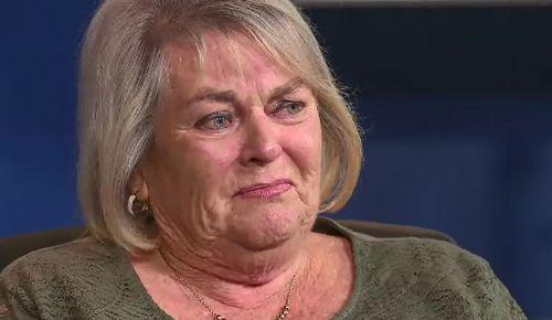 Ms Gatt's emotional mother breaks down pleading for information. (9NEWS)