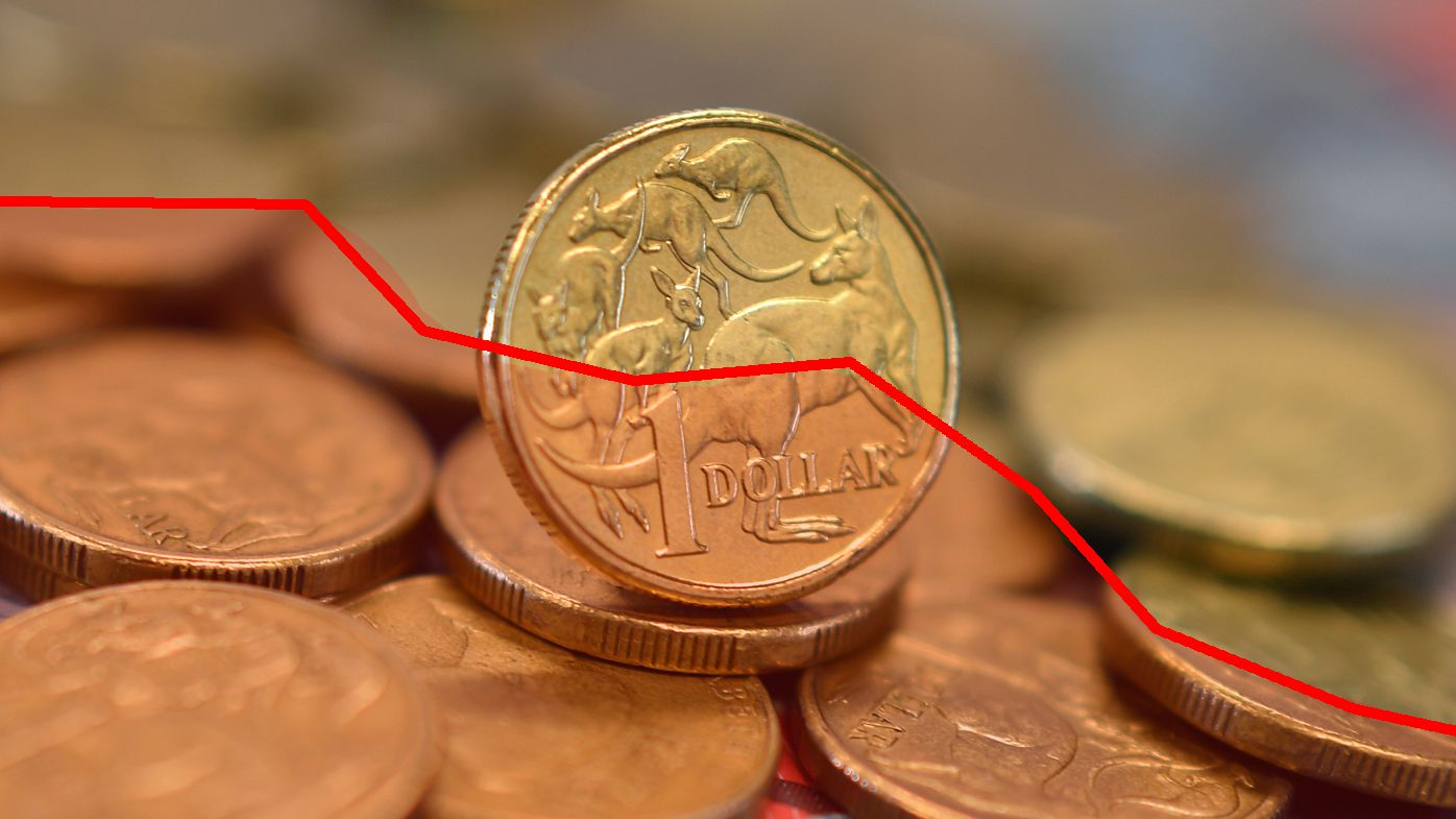 Aussie dollar sinks to lowest level since Global Financial Crisis in 2009