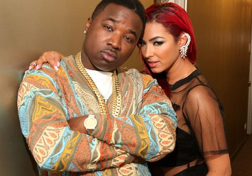 Troy Ave (left) in 2014. (Getty)