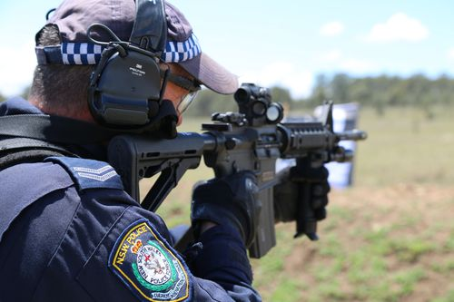 The new guns will be in the hands of tactical officers from today.