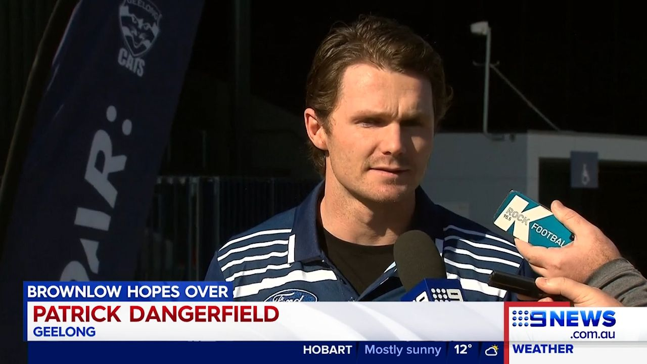 Patrick Dangerfield has accepted a one match ban from the AFL tribunal.