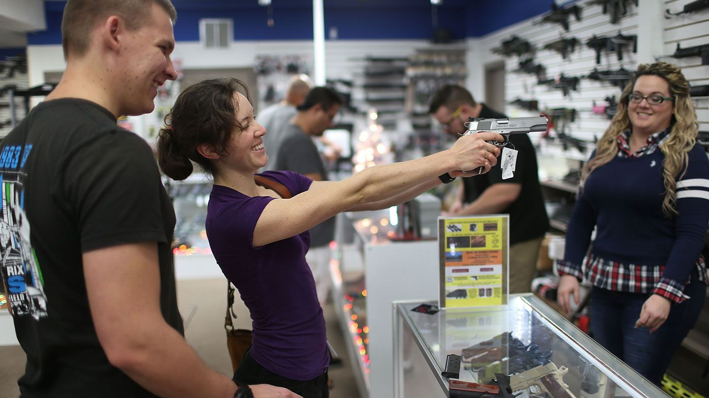The share prices of gun makers have surged following the Las Vegas massacre.