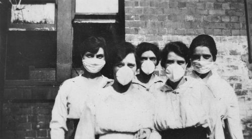 An estimated 15,000 Australians died fro Spanish Flu when a pandemic swept the world.