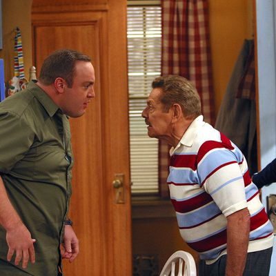 Kevin James and Jerry Stiller: 2002